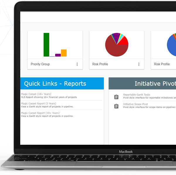 Pipeline ideas management dashboard