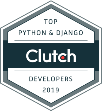 the best Python and Django development company badge from Clutch